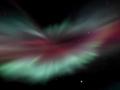 Aurora from Skaftafell, Iceland