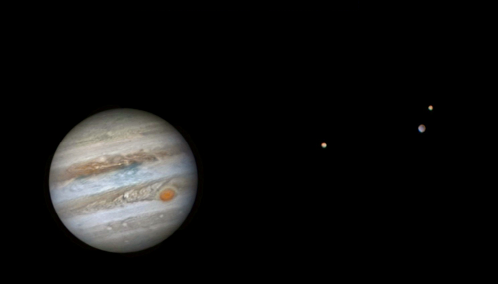 Jupiter and it's moons