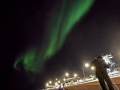 Mike getting his aurora picture in Reykjavic